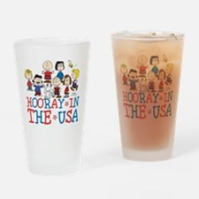 Hooray in the USA Drinking Glass