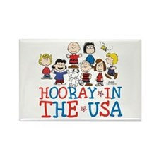 Hooray in the USA Rectangle Magnet