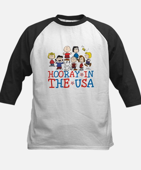 Hooray in the USA Kids Baseball Jersey