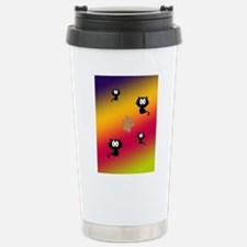Cat Graphic Travel Mug