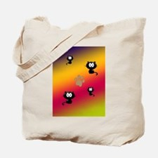 Cat Graphic Tote Bag