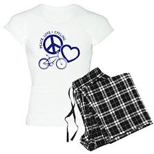PEACE-LOVE-CYCLING Pajamas