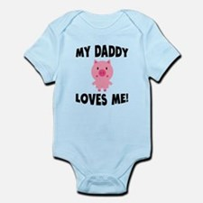 My Daddy Loves Me Pig Body Suit