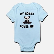 My Mommy Loves Me Panda Body Suit