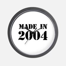 Made in 2004 Wall Clock