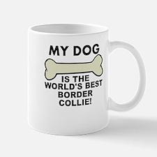 Worlds Best Border Collie Mugs
