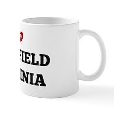 I Love Fairfield, Virginia Mug