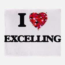 I love EXCELLING Throw Blanket