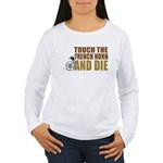 Touch/Die French Women's Long Sleeve T-Shirt