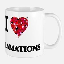 I love EXCLAMATIONS Mug