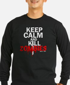 Unique Keep calm and kill zombies T