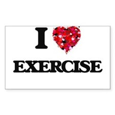 I love EXERCISE Decal