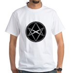 Unicursal Hexagram White T-Shirt