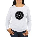 Unicursal Hexagram Women's Long Sleeve T-Shirt