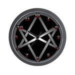 Unicursal Hexagram Wall Clock