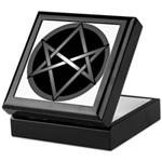 Unicursal Hexagram Keepsake Box