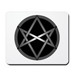 Unicursal Hexagram Mousepad