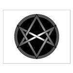 Unicursal Hexagram Small Poster
