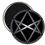 Unicursal Hexagram Magnet