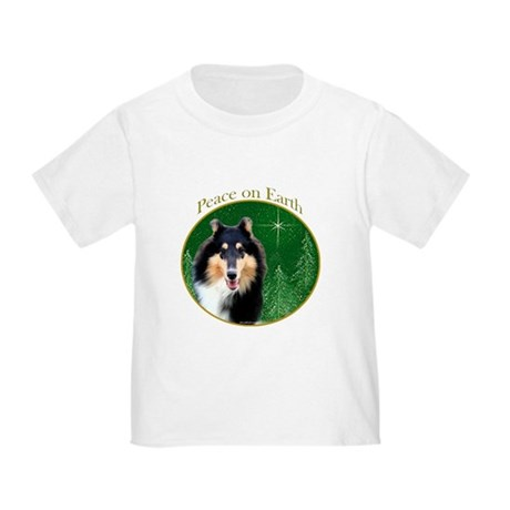 Collie Peace Toddler T-Shirt
