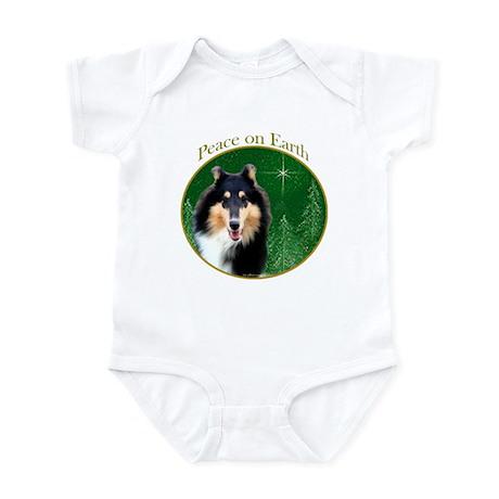 Collie Peace Infant Bodysuit