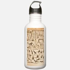 Vintage French Exercis Water Bottle