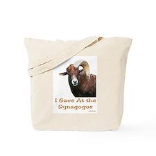 Shofar Humor Tote Bag