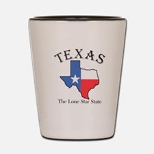 The lone star state Shot Glass