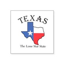 The lone star state Sticker