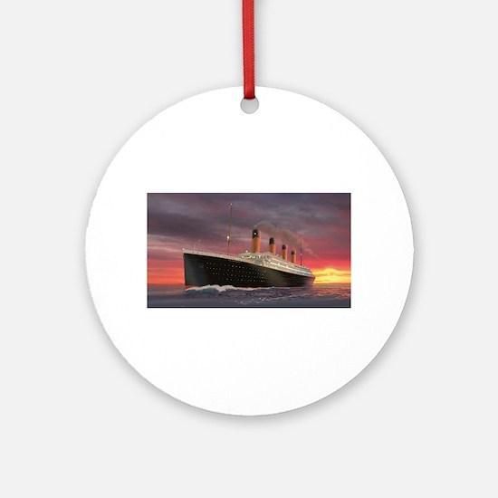 Titanic Ornament (Round)