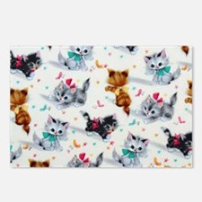 Cute Playful Kittens Postcards (Package of 8)