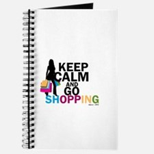 Keep Calm and Go Shopping Journal