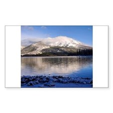 Snowy Mountain Decal