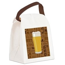 Types of Beer Series Print 2 Canvas Lunch Bag