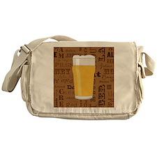 Types of Beer Series Print 2 Messenger Bag