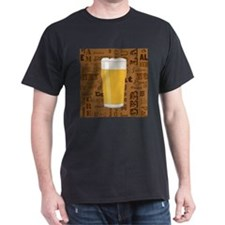 Types of Beer Series Print 2 T-Shirt