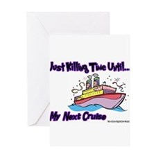 Funny Cruise Greeting Card