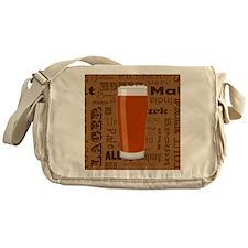 Types of Beer Series Print 3 Messenger Bag