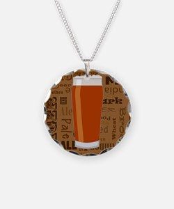 Types of Beer Series Print 3 Necklace