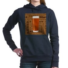 Types of Beer Series Pri Women's Hooded Sweatshirt