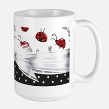 Little Ladybugs Large Mug