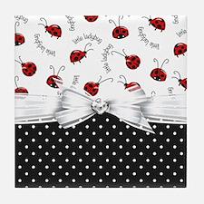 Little Ladybugs Tile Coaster