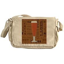 Types of Beer Series Print 6 Messenger Bag