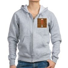 Types of Beer Series Print 6 Zip Hoodie