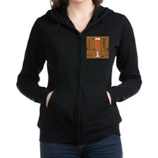 Types of Beer Series Print 6 Women's Zip Hoodie