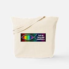 Let Us Love Tote Bag
