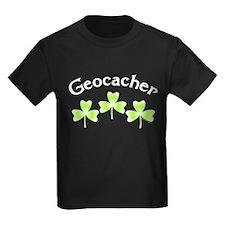 Geocacher 3 Shamrocks T