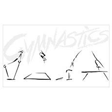 Gymnastics Events Poster