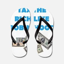 Tax the Rich Flip Flops