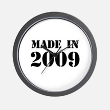 Made in 2009 Wall Clock